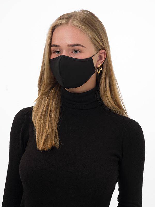 Mondkapje, wasbaar, stretch, neusbeugel, zijbeugels, elastiek, verstelbaar, goede coupe
